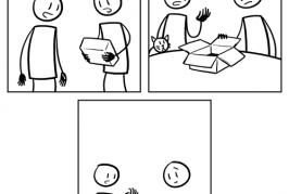 Une boite pour le chat
