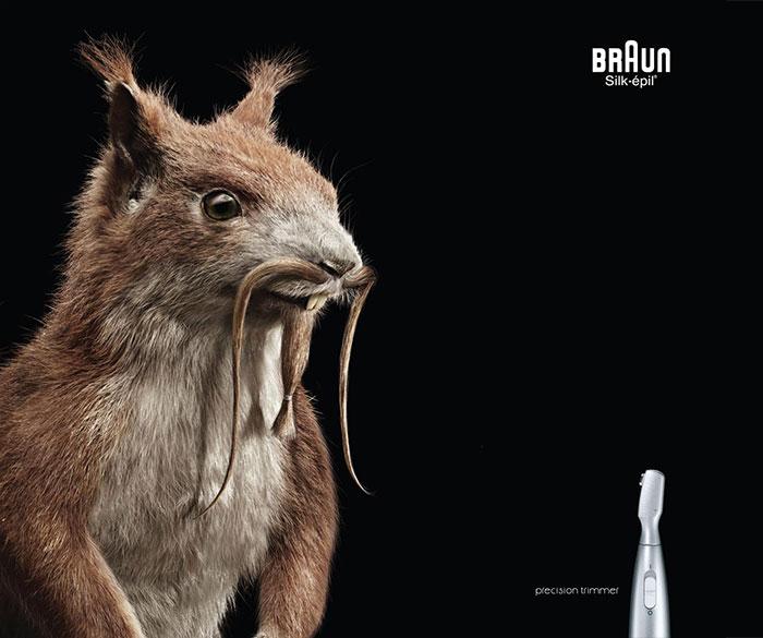 Publicité Braun