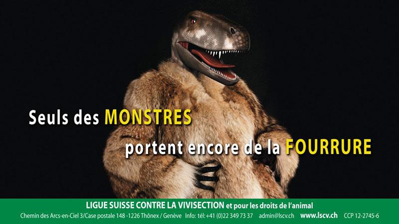 Seul les monstres portent de la fourrure
