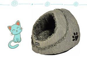 niche corbeille pour chat