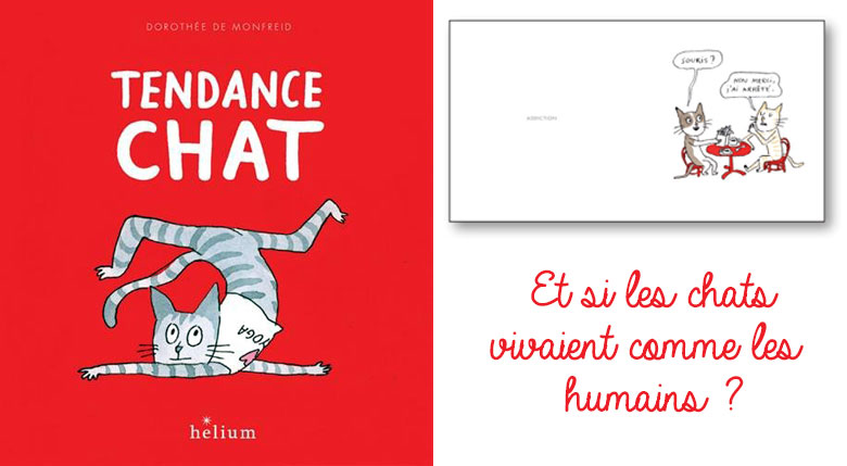 illustration tendance chat