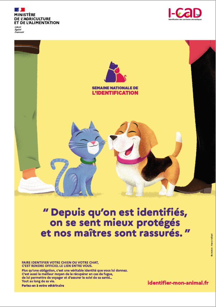 affiche-semaine-nationale-identification-chien-chat