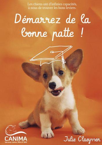 Démarrer de la bonne patte ! Livre éducation canine