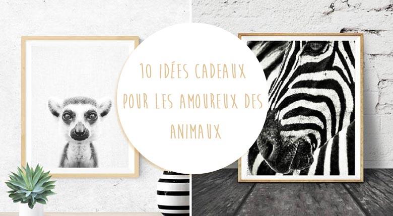 idées cadeaux amoureux animaux